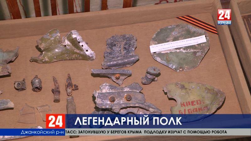В посёлке Октябрьское чтят память легендарного авиаполка