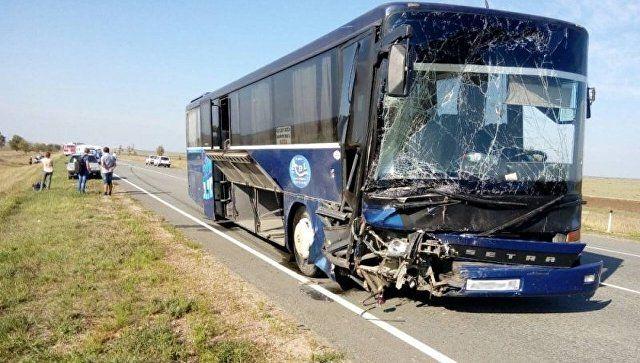 МВД проводит проверку по факту ДТП с участием автобуса и ВАЗ