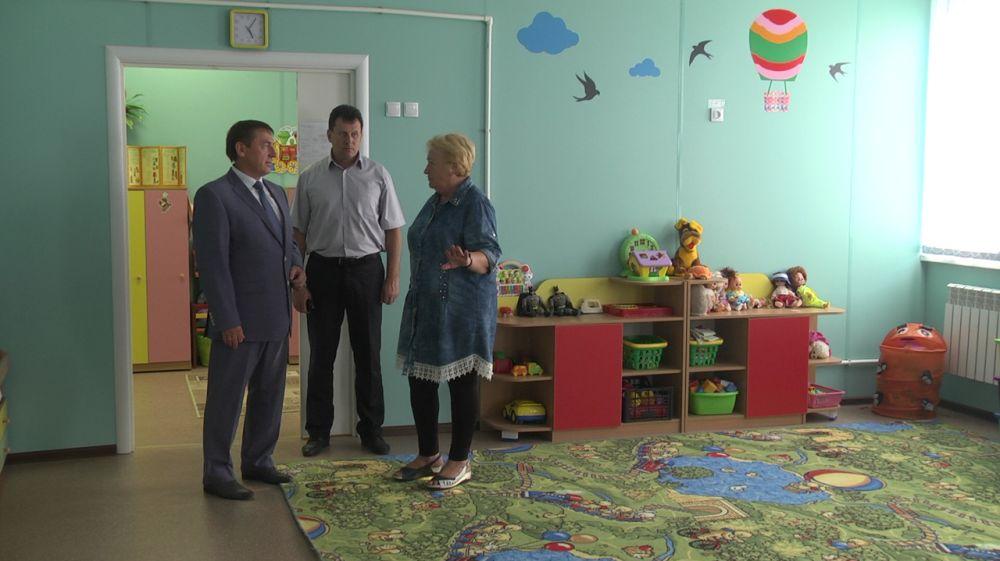 Юрий Гоцанюк проинспектировал образовательные учреждения Армянска