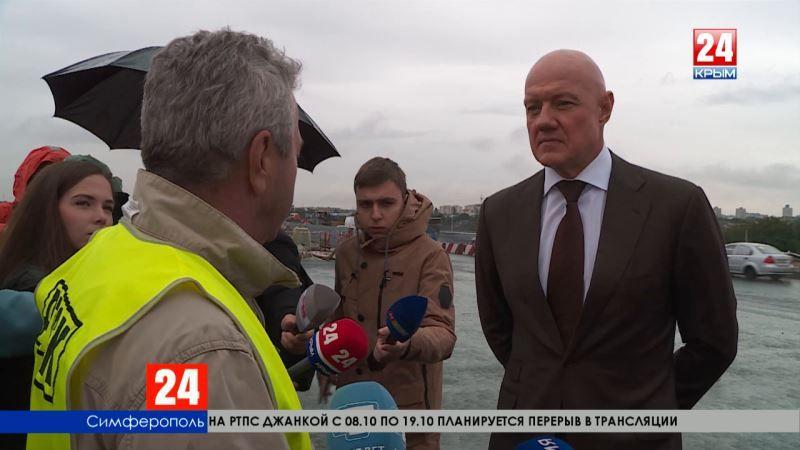Путепровод над Евпаторийским шоссе прошёл правительственную инспекцию