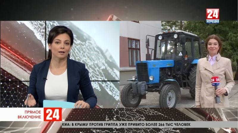 Рейд Главы Крыма Сергея Аксёнова по крымским колледжам продолжается. Прямое включение Марины Патриной