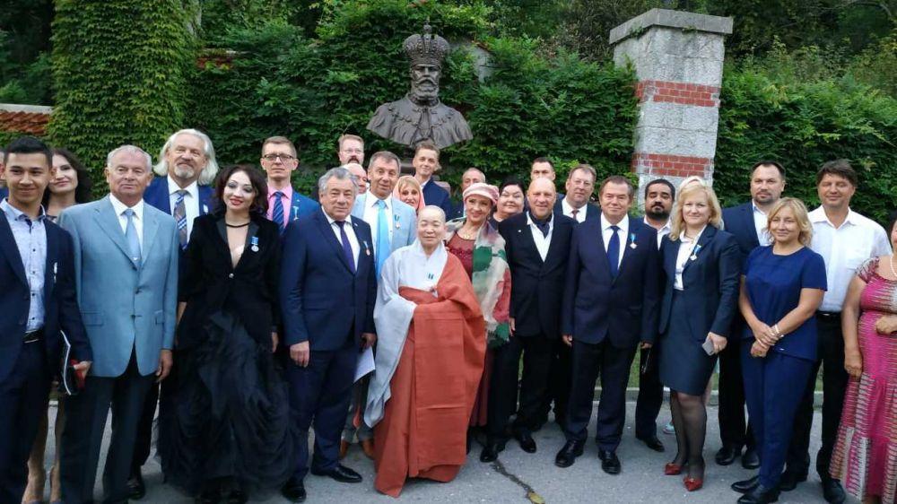 Татьяну Малий наградили золотым орденом Всемирной общественной премии «Миротворец»