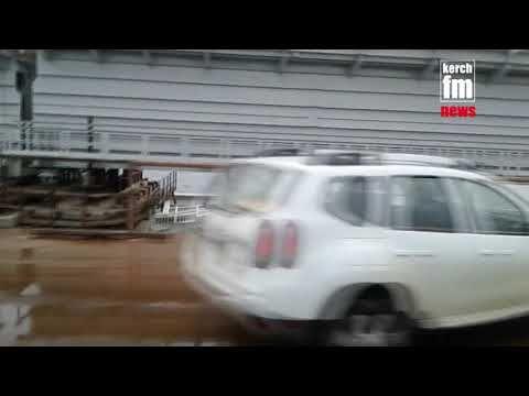 Страховая раскошелится за упавшую опору Крымского моста