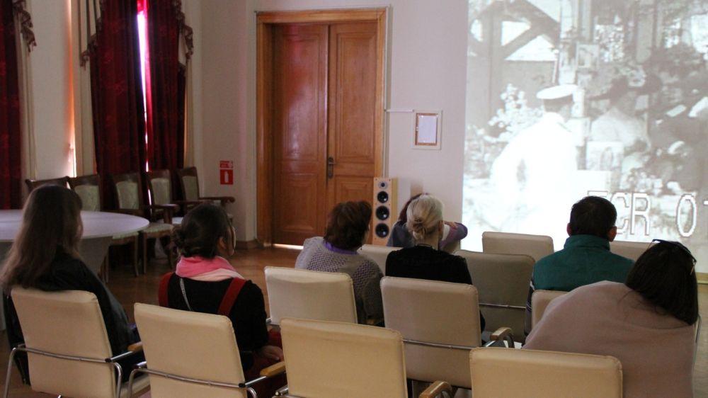В Ливадийском дворце прошла лекция «Документальный фильм об императоре Николае II в Крыму»