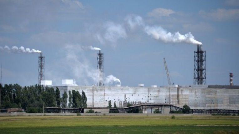 В атмосферном воздухе Армянска концентрация хлорида водорода ниже предела обнаружения