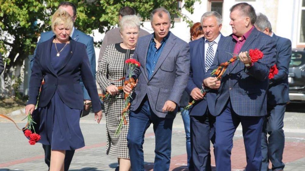 Сакский район посетил Председатель Государственного Совета Республики Крым Владимир Константинов
