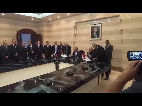 Крым и Сирия подписали ряд двусторонних соглашений