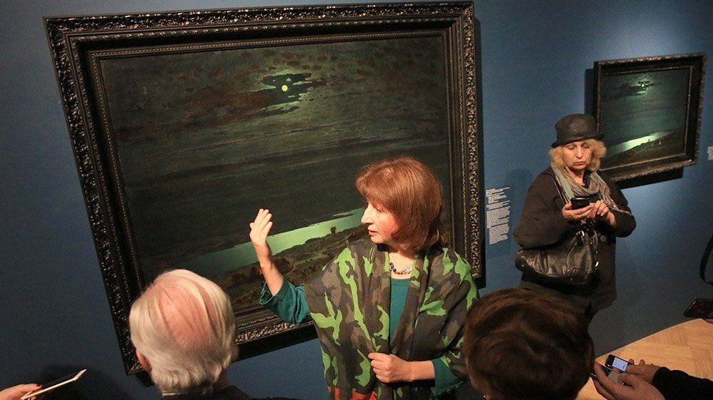 Картина из собрания Симферопольского художественного музея представлена в Москве на крупнейшей выставке творчества Архипа Куинджи