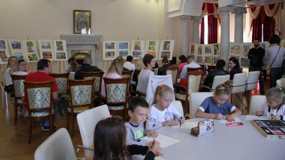 День художника состоялся в Ливадийском дворце-музее