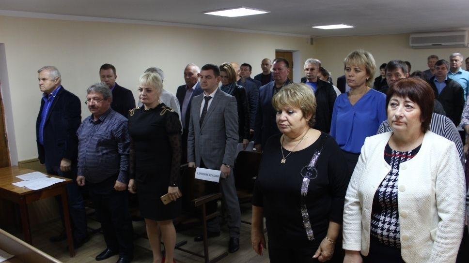 Руководство Сакского района приняло участие во внеочередной 73 сессии Сакского районного совета