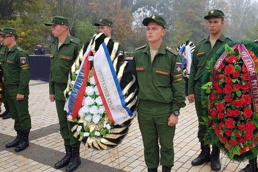 Крым простился с жертвами массового убийства в Керчи