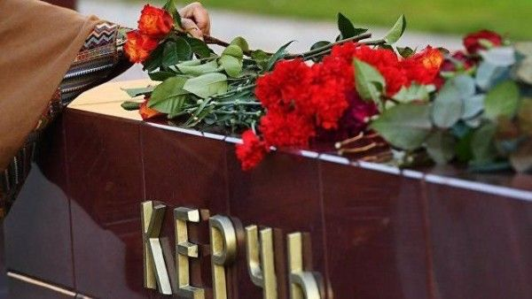 Видео он -лайн прощание с погибшими в керченском колледже