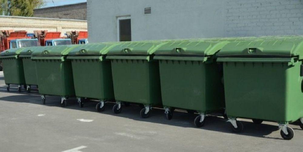 Симферополю не хватает более 1,5 тысячи мусорных баков