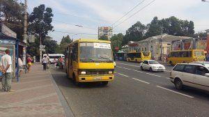 Из-за ремонта дорог в Симферополе изменена схема движения двух маршруток