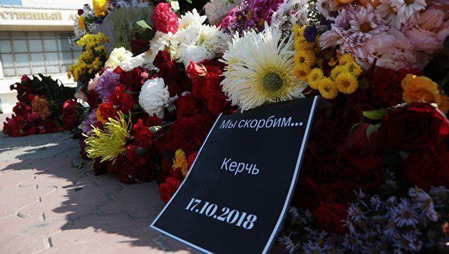 Слова скорби: после трагедии в Керчи правительство Крыма получило 77 телеграмм