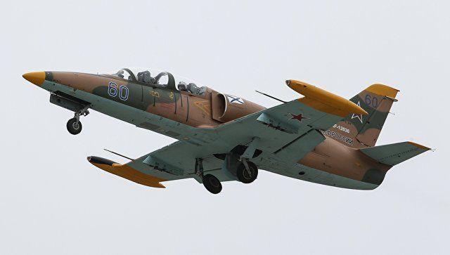 В Азовском море обнаружены фрагменты тел летчиков разбившегося Л-39