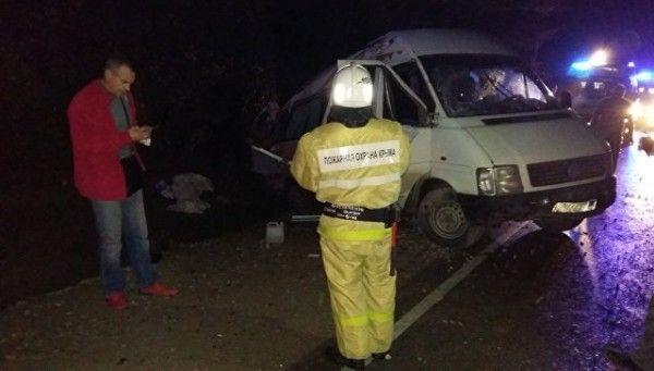 Серьёзное ДТП в Крыму: трасса Симферополь-Керчь, четверо пострадавших