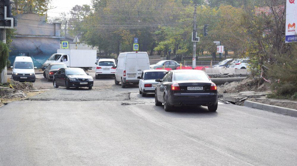 В Симферополе возобновлено движение транспорта по улице Объездной