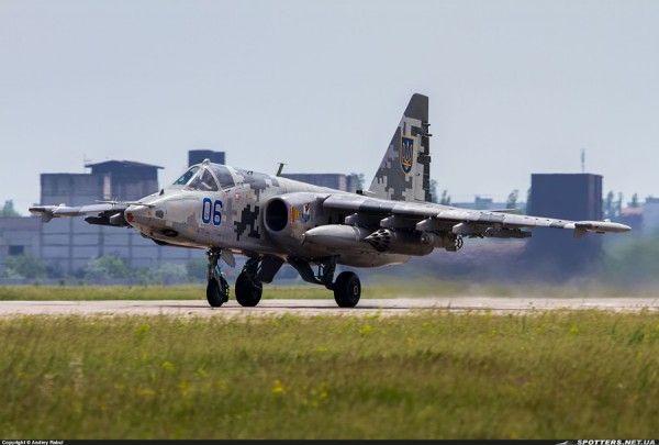 Украинский пилот едва не разбился во время взлета с аэродрома