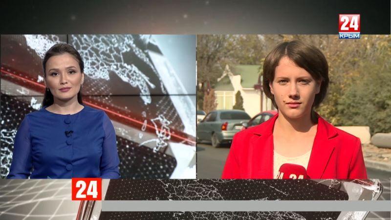 В Симферополе открыли рабочее движение по улице Объездной: прямое включение корреспондента телеканала «Крым 24» Елены Носковой