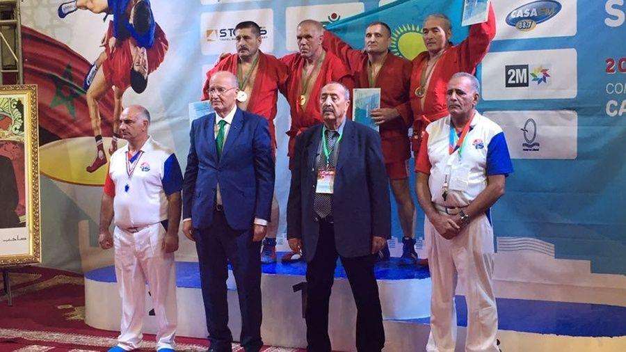 Севастополец Леонид Рубель – чемпион мира по самбо среди мастеров-ветеранов!