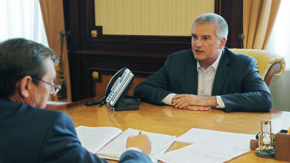 Сергей Аксёнов: На проектирование строительства очистных сооружений в Армянске потребуется порядка 17 млн рублей