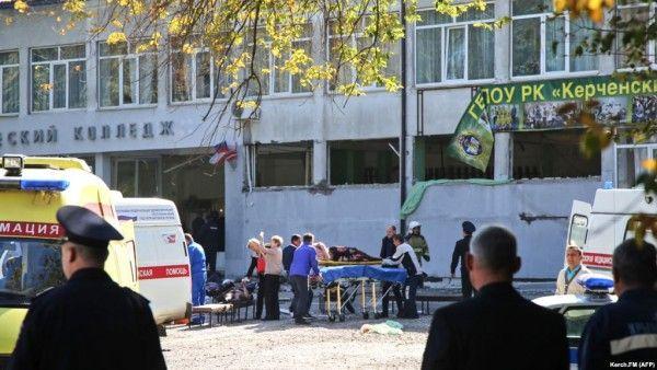 Керченская трагедия глазами выжившего студента