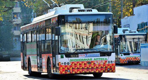 Три троллейбусных маршрута возобновят работу в Симферополе