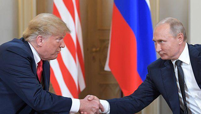 Стали известны дата и место встречи Путина и Трампа