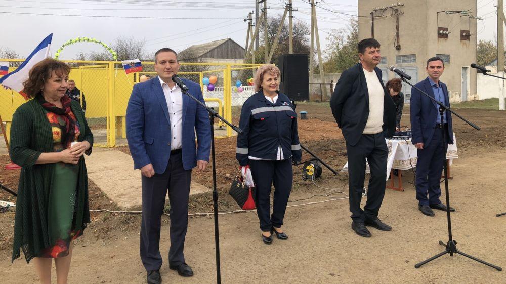 Вадим Белик принял участие в торжественной церемонии пуска газа в селе Котельниково