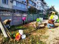 Депутаты горсовета приняли участие в субботниках
