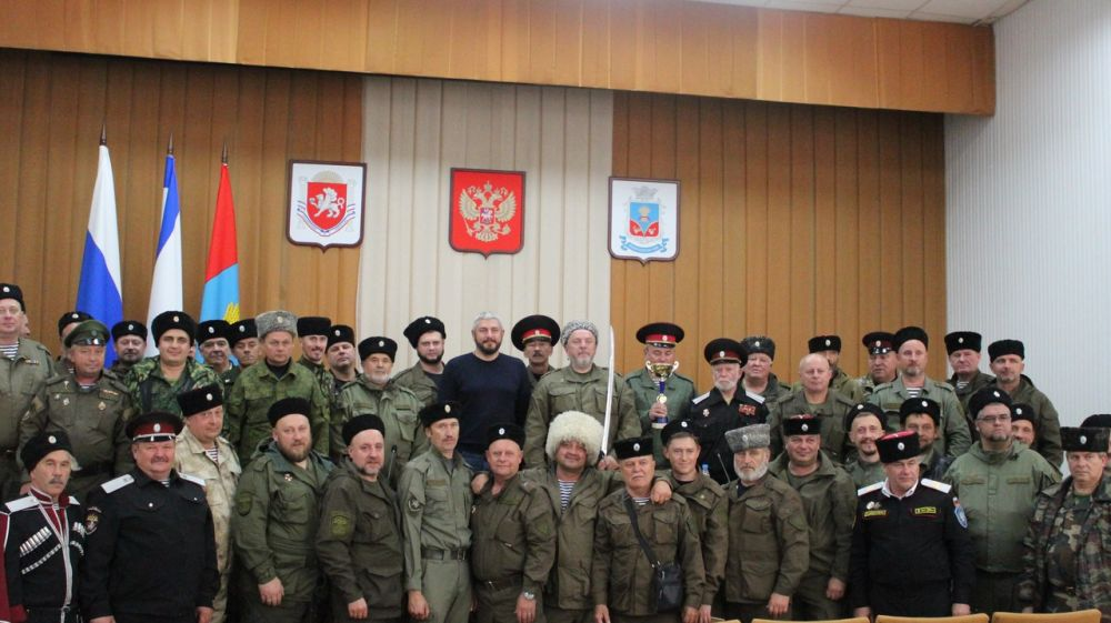 Совет крымских атаманов прошел в Красногвардейском районе