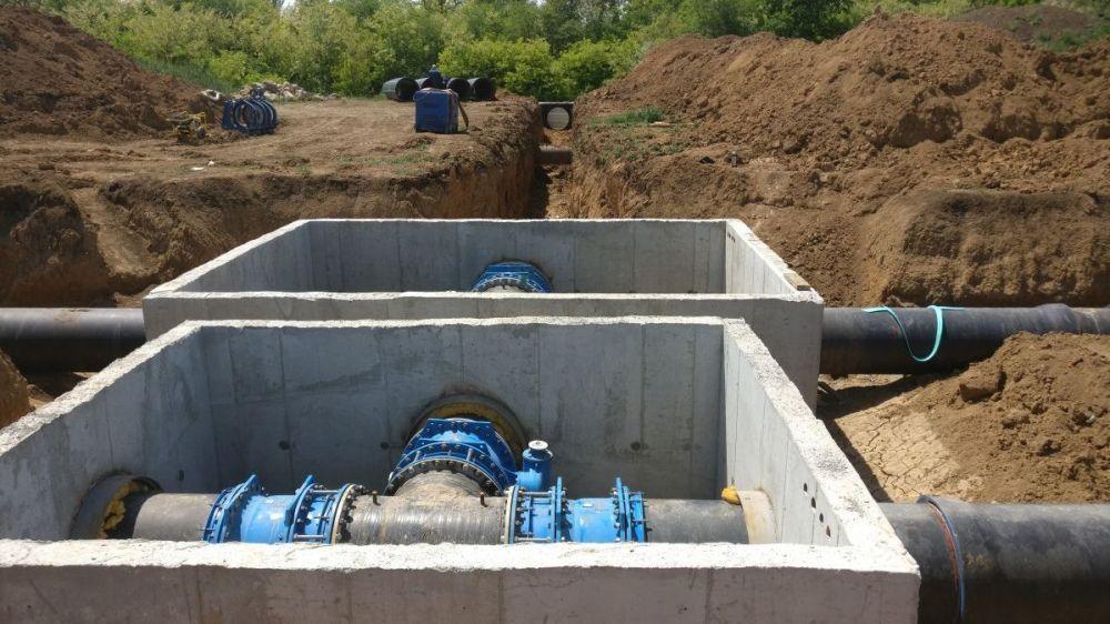 Минимуществом Крыма установлен публичный сервитут для размещения водовода в восточной части полуострова