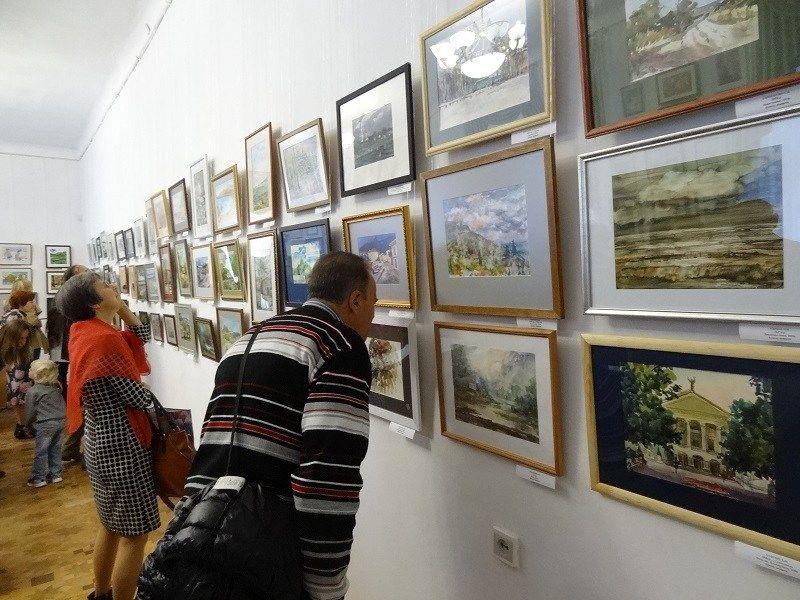 XII Биеннале камерной акварели Крыма
