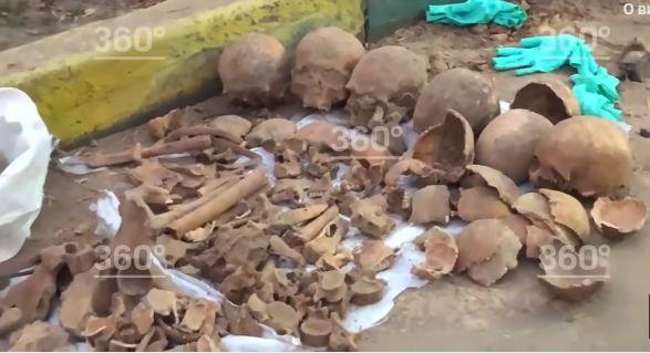 В Москве обнаружили человеческие черепа