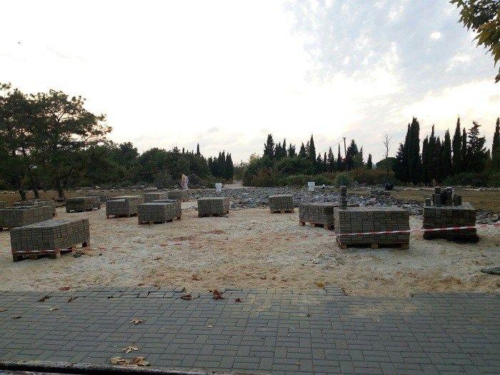 Работникам, трудившимся на реконструкции Парка Победы, не платили зарплату