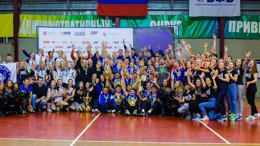 Женская сборная КФУ завоевала путевку в финал Кубка Студенческой волейбольной ассоциации России