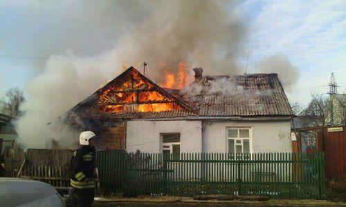 В Евпатории на пожаре погиб мужчина