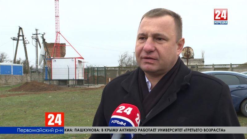Высокое качество изображения - в селе Войково Первомайского района установили радиотелевизионный передающий центр