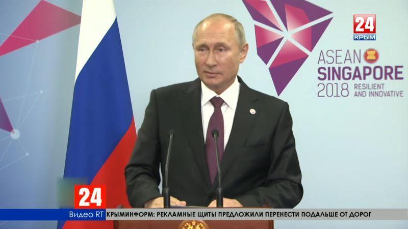 Путин прокомментировал задержание российского сейнера «Норд» Украиной
