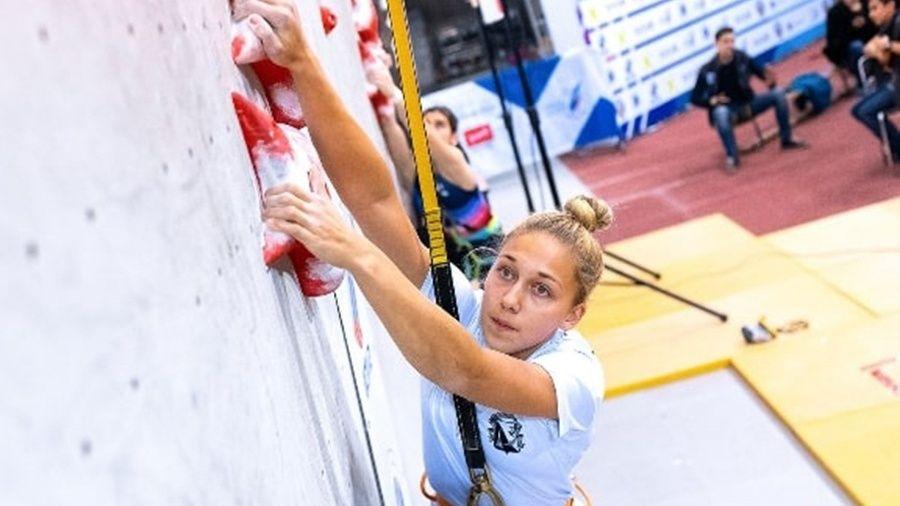 Елена Матяк-Яблучкина из Севастополя – победительница дебютного первенства России по скалолазанию в многоборье