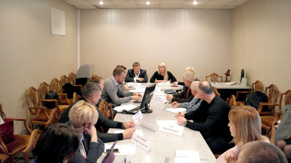 Анна Анюхина приняла участие в заседании общественного совета при Минимуществе Крыма