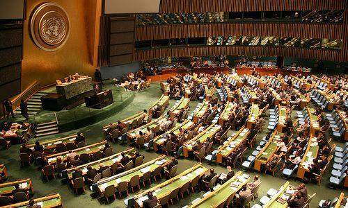 Генассамблея ООН снова приняла резолюцию по Крыму