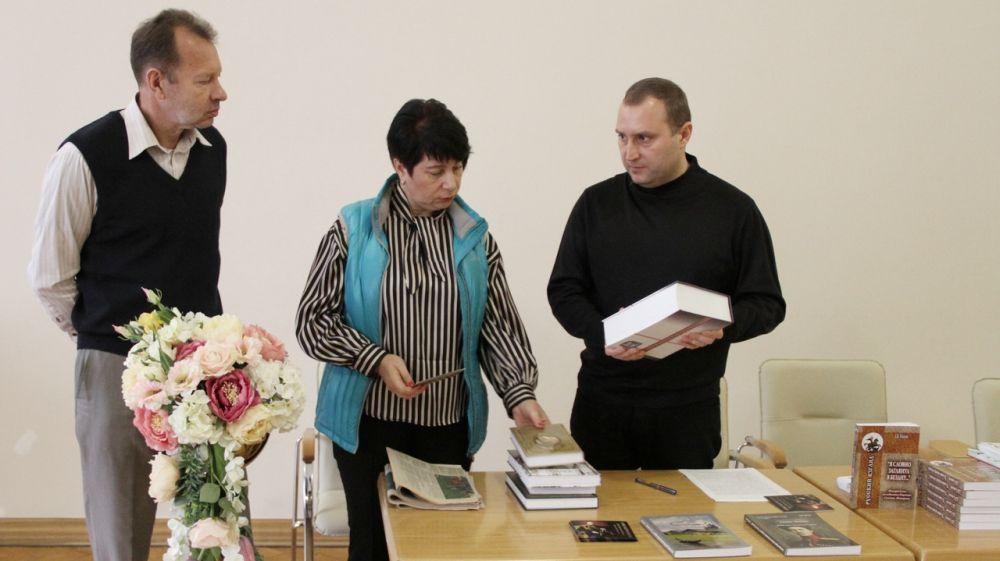 В Ливадийском дворце-музее состоялась презентация книги исследователя, краеведа Дмитрия Соколова