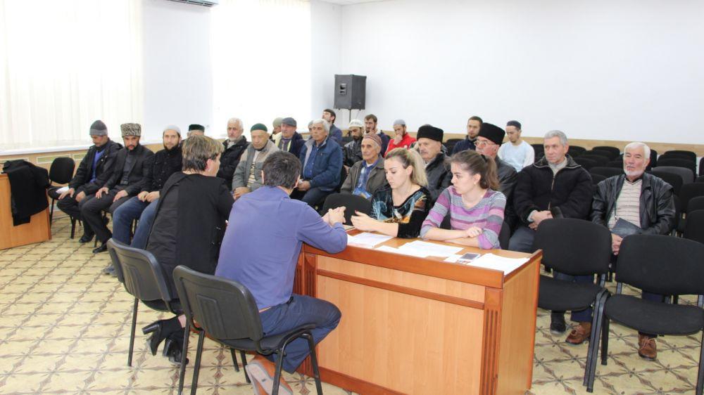 В администрации Бахчисарайского района состоялось заседание Совета по межнациональным отношениям