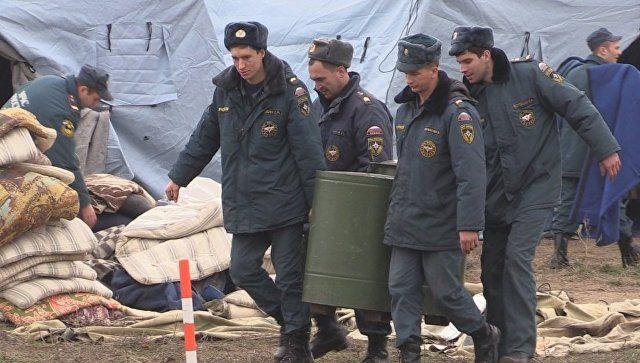 Как это было: помощь спасателей крымчанам в первые дни блэкаута