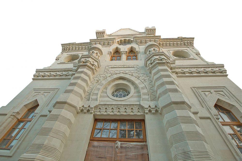 Как в Симферополе восстанавливают по воспоминаниям старожилов Караимскую кенассу