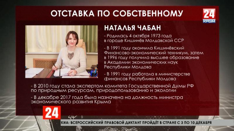 Очередные кадровые изменения: Глава Крыма отправил в отставку министра экономического развития Республики
