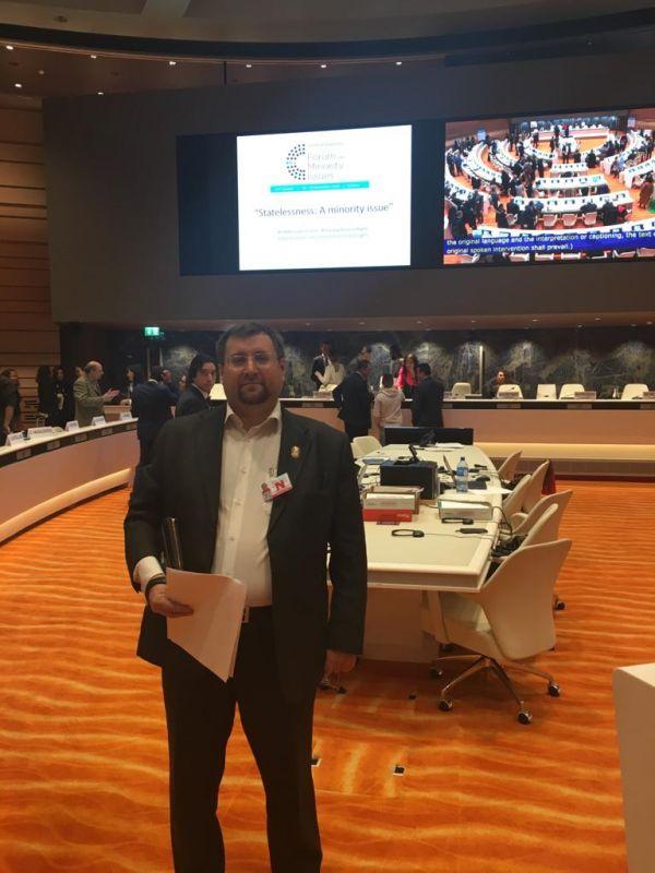 Правозащитник из Крыма выступил на 11 Форуме ООН