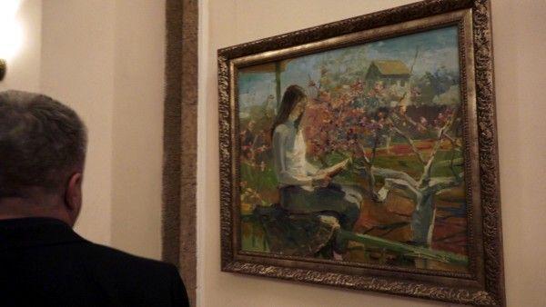 В Севастополе открылась выставка живописи Сергея Берлова «Обо всём»